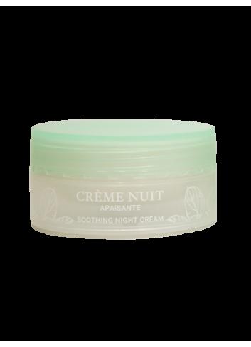 Crème de Nuit Apaisante - 50 mL - Certifiée Bio - Soin visage - Femme