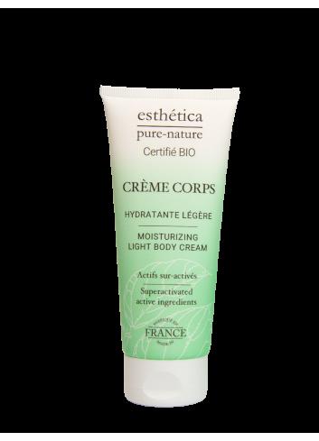 Crème Corps Hydratante Légère - 100 mL - Certifiée Bio - Soin Corps - Femme