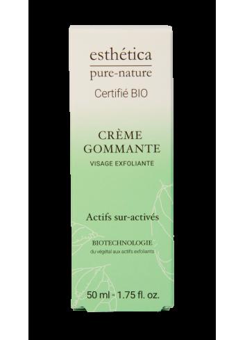 Crème Gommante Visage Exfoliante - 50 mL - Certifiée Bio - Soin visage - Femme