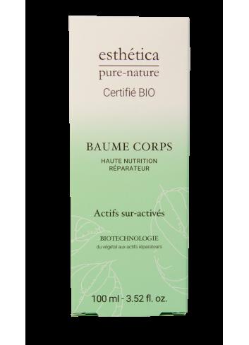 Baume Corps Haute Nutrition Réparateur - 100 mL - Certifié Bio - Soin Corps - Femme